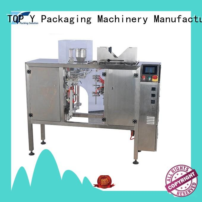 automatic horizontal pouch packing machine stand customized for bag sealing