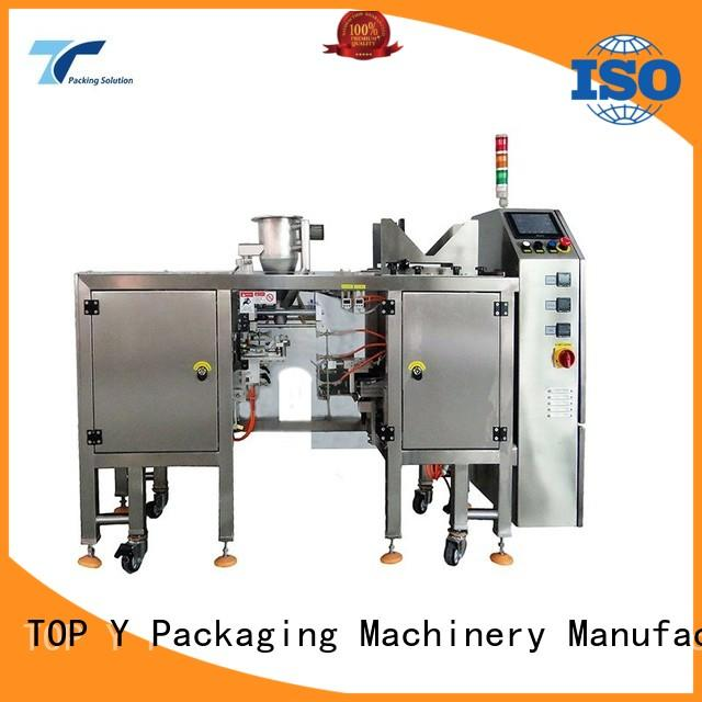 TOP Y Packaging Machinery Manufacturer quality stand up pouch packing machine directly sale for bag sealing