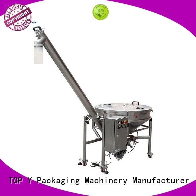 Quality TOP Y Packaging Machinery Manufacturer Brand design efficient auxiliary vertical form fill seal packaging machines