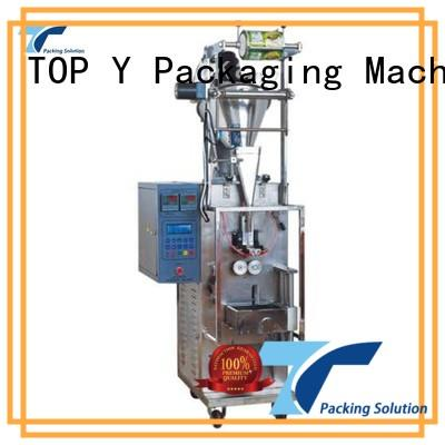 TOP Y Packaging Machinery Manufacturer Brand top selling granule custom vertical form fill seal packaging machines