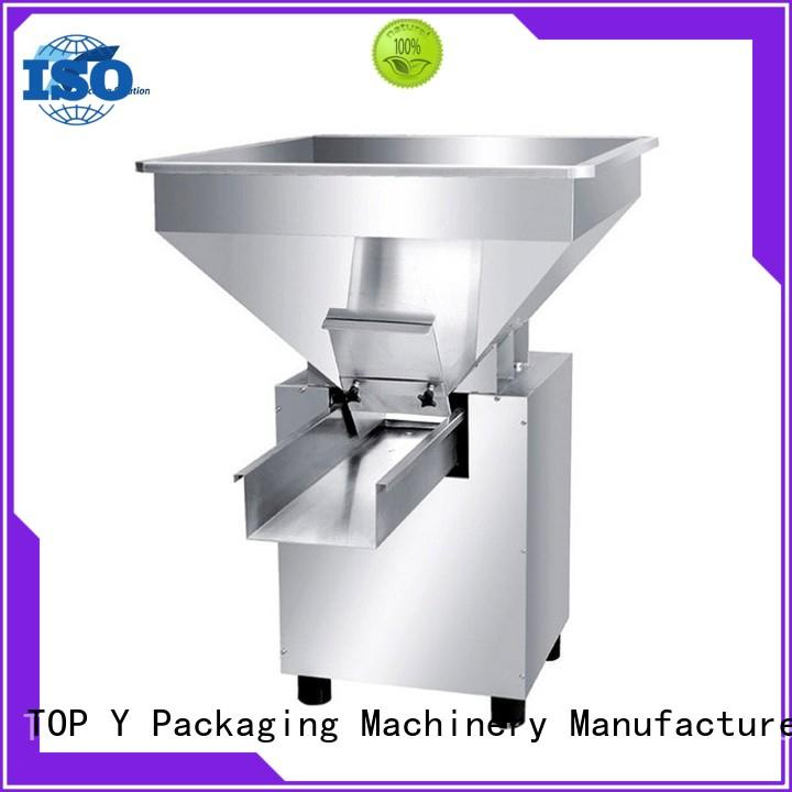 TOP Y Packaging Machinery Manufacturer vibratory form fill seal packaging machine auxiliary personalized for bag outfeed