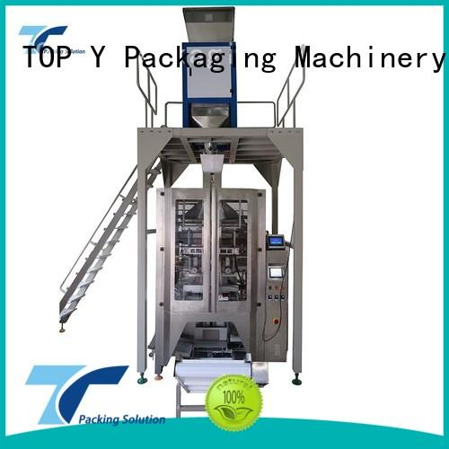 TOP Y Packaging Machinery Manufacturer Brand plastic bag best popular custom vertical form fill seal packaging machines