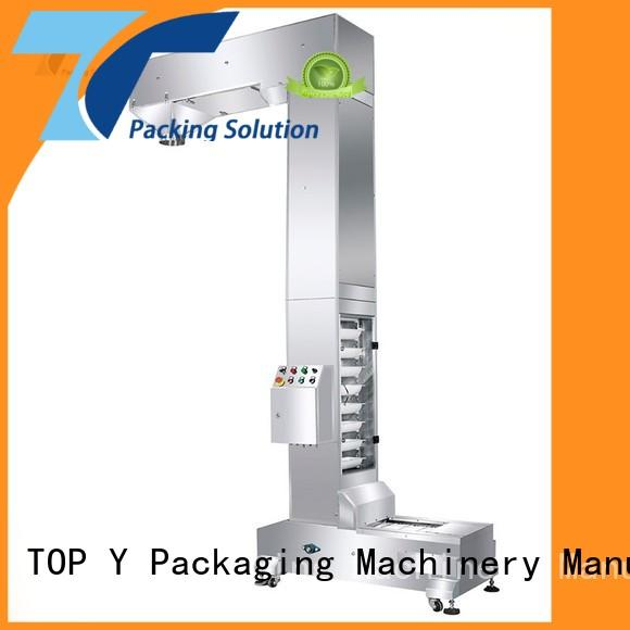 TOP Y Packaging Machinery Manufacturer acclivitous filling and packaging machines factory price for bag outfeed
