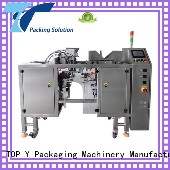 TOP Y Packaging Machinery Manufacturer stand mini pouch packing machine customized for bag sealing