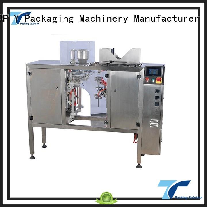 TOP Y Packaging Machinery Manufacturer Brand vffs ymdpt line automatic pouch packing machine manufacturer