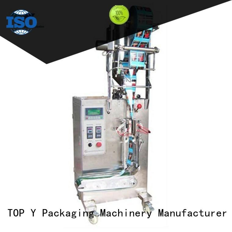 TOP Y Packaging Machinery Manufacturer hot selling vertical packaging machine manufacturer for factory