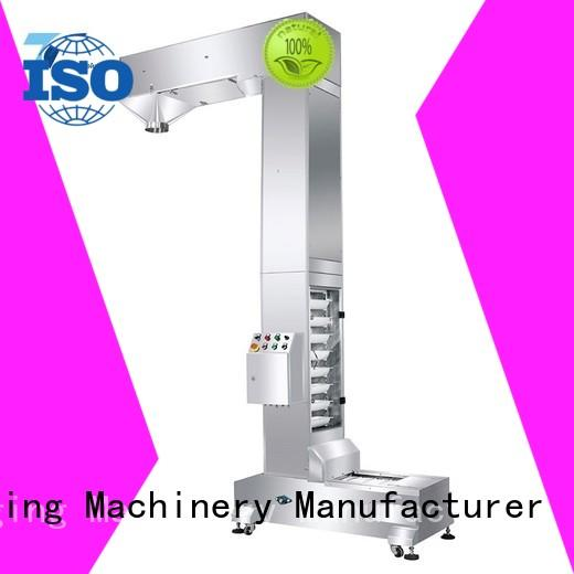 TOP Y Packaging Machinery Manufacturer feeder auxiliary vertical form fill seal packaging machines supplier for bag sealing