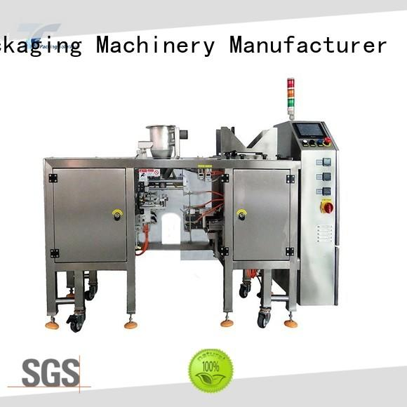 horizontal pouch packing machine top for bag sealing TOP Y Packaging Machinery Manufacturer