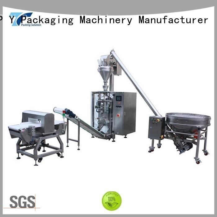 TOP Y Packaging Machinery Manufacturer reliable horizontal form fill seal machine factory for industry