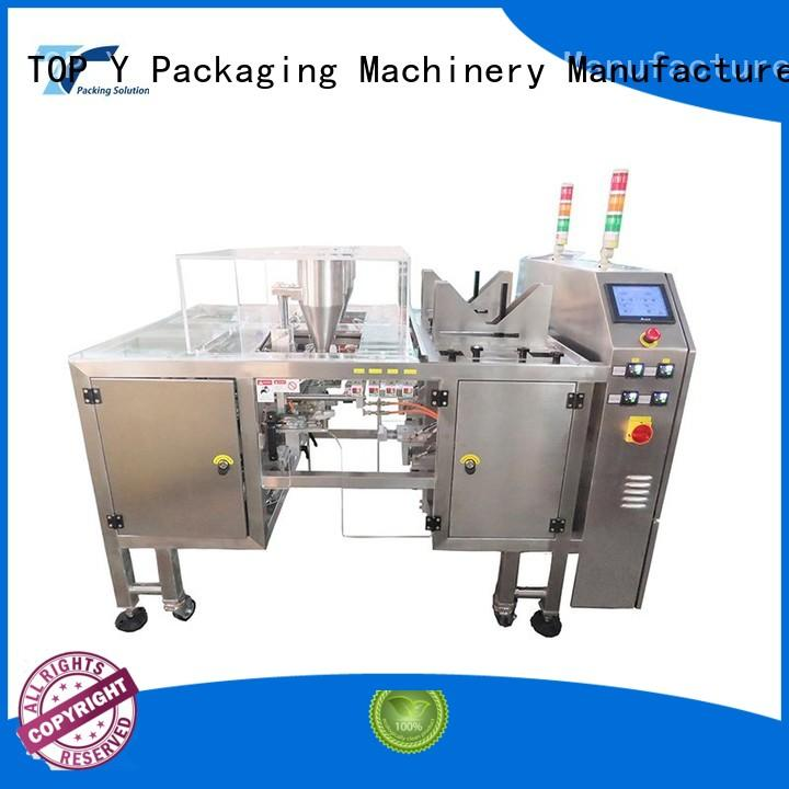 Hot pouch packing machine manufacturer yvpx TOP Y Packaging Machinery Manufacturer Brand