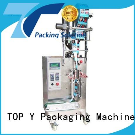 TOP Y Packaging Machinery Manufacturer granule automatic packing machine customized for milk