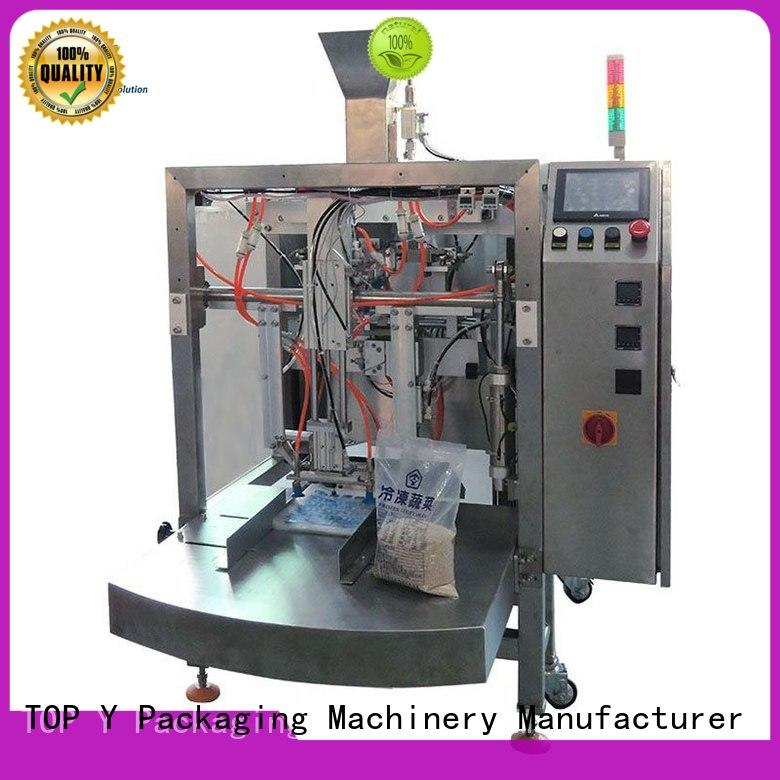 TOP Y Packaging Machinery Manufacturer quality zipper pouch packing machine series for bag making