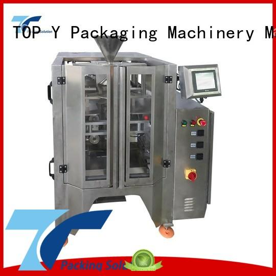 Hot vertical form fill seal packaging machines design TOP Y Packaging Machinery Manufacturer Brand