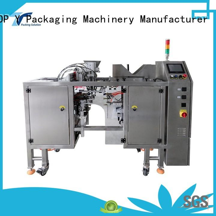 TOP Y Packaging Machinery Manufacturer automatic automatic pouch packing machine manufacturer for bag outfeed