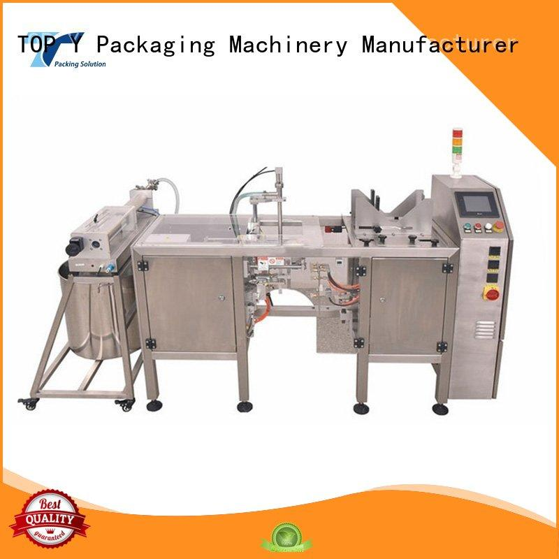 TOP Y Packaging Machinery Manufacturer packing automated packaging line factory for commercial