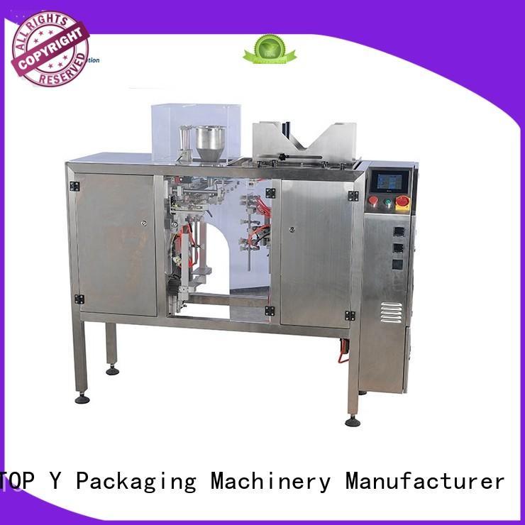 TOP Y Packaging Machinery Manufacturer adjustable pouch packing machine price manufacturer for bag sealing
