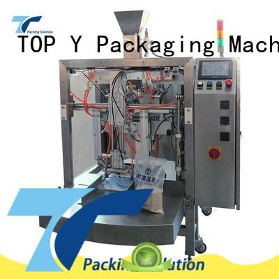 TOP Y Packaging Machinery Manufacturer gusset stand up pouch filling and sealing machine directly sale for bag filling