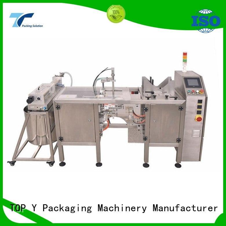 popular hot sale horizontal packaging machine equipment TOP Y Packaging Machinery Manufacturer