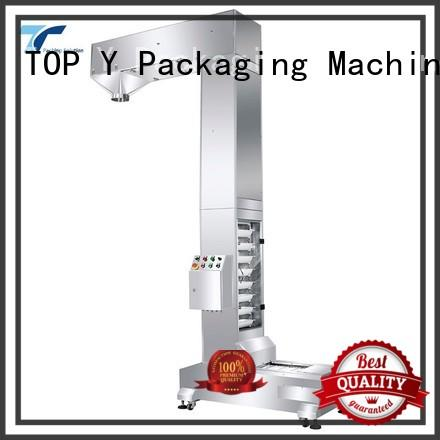 vibratory filling sealing machine design personalized for bag outfeed