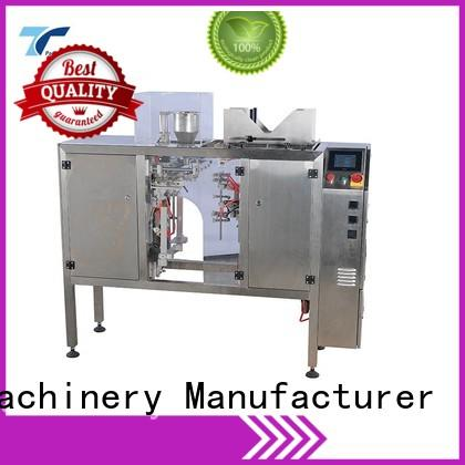 TOP Y Packaging Machinery Manufacturer automatic zipper pouch packing machine customized for bag making