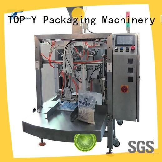 TOP Y Packaging Machinery Manufacturer pouch stand up pouch filling and sealing machine customized for bag outfeed