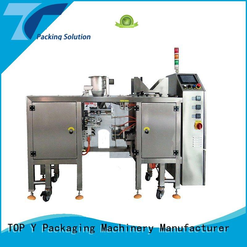 zipper doypack pouch packing machine manufacturer vertical TOP Y Packaging Machinery Manufacturer Brand