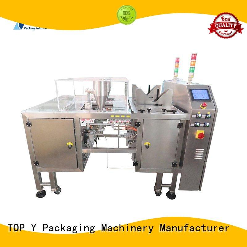 TOP Y Packaging Machinery Manufacturer Brand top selling bags low cost powder pouch packing machine