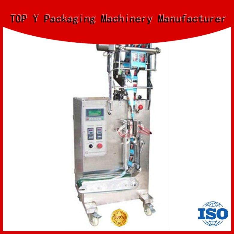 TOP Y Packaging Machinery Manufacturer Brand automatic vertical form fill seal packaging machines Top Y supplier