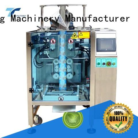 vffs packaging machine quad for bag sealing TOP Y Packaging Machinery Manufacturer