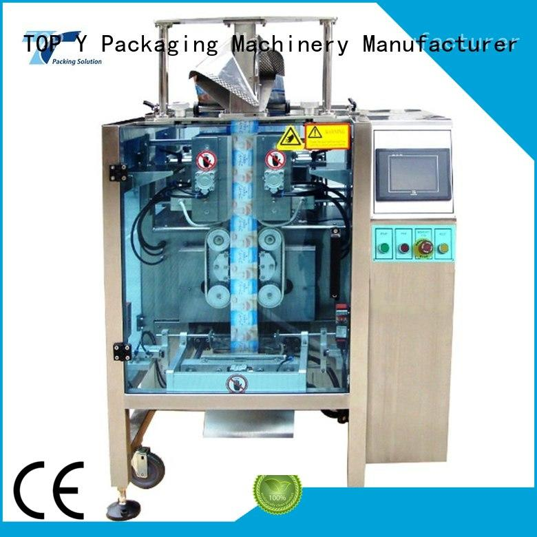 Quality TOP Y Packaging Machinery Manufacturer Brand vertical form fill seal packaging machines seal