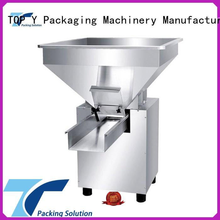 TOP Y Packaging Machinery Manufacturer vibratory form fill seal packaging machine auxiliary wholesale for bag making