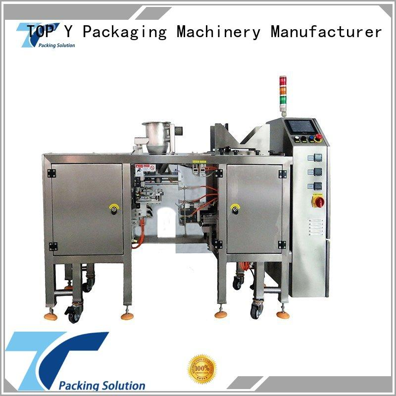 automatic packaging machinery manufacturer gusset directly sale for bag filling