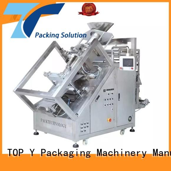 TOP Y Packaging Machinery Manufacturer bagging vffs machine design for bag outfeed