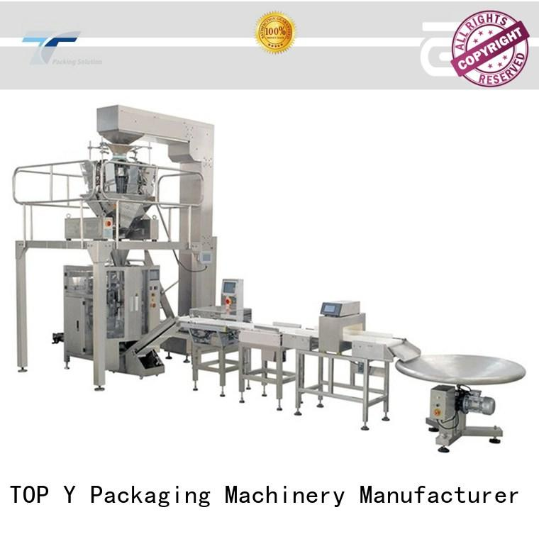 TOP Y Packaging Machinery Manufacturer liquid automatic water filling machine design for commercial