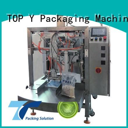 top selling professional zipper TOP Y Packaging Machinery Manufacturer Brand pouch packing machine manufacturer supplier