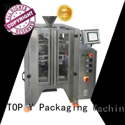 TOP Y Packaging Machinery Manufacturer Brand trendy vffs vertical form fill seal packaging machines