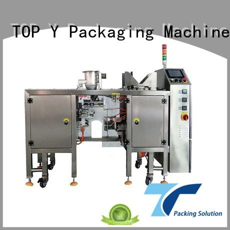 powder pouch packing machine zipper plastic bag TOP Y Packaging Machinery Manufacturer Brand pouch packing machine manufacturer