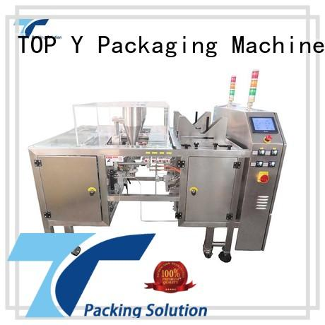 TOP Y Packaging Machinery Manufacturer adjustable stand pouch packing machine series for bag making