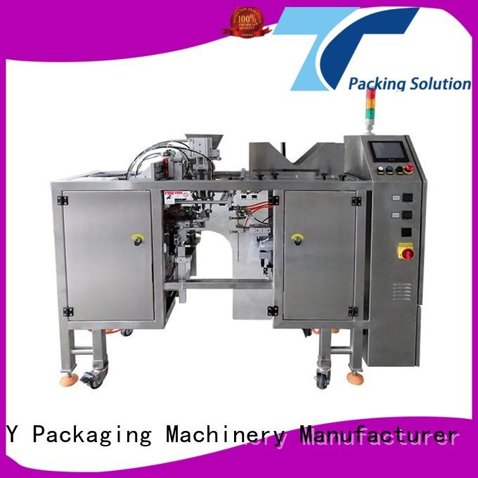 powder pouch packing machine stand conveyor yqsm TOP Y Packaging Machinery Manufacturer Brand