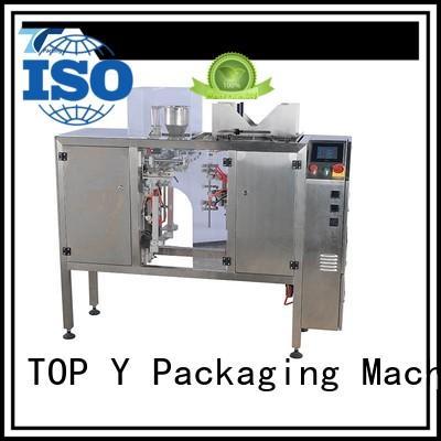 powder pouch packing machine professional pouch packing machine manufacturer TOP Y Packaging Machinery Manufacturer Brand