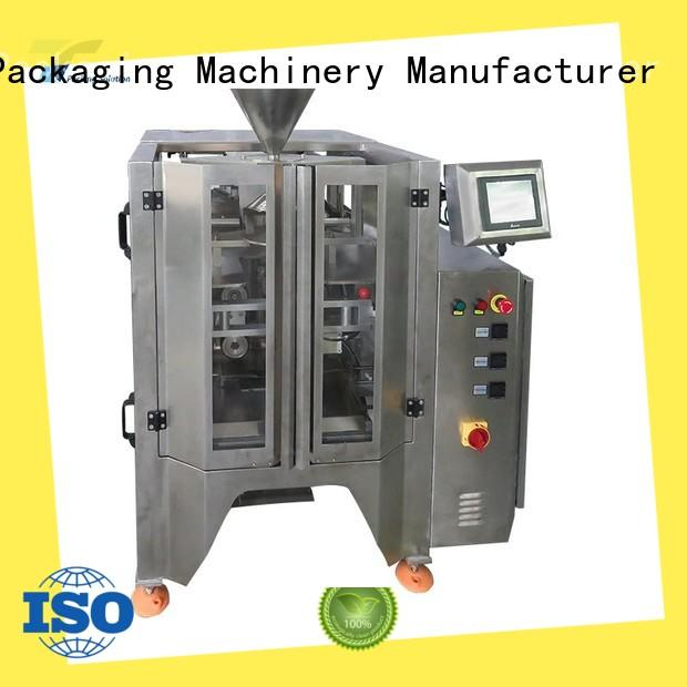 vffs machine price quad for bag outfeed TOP Y Packaging Machinery Manufacturer