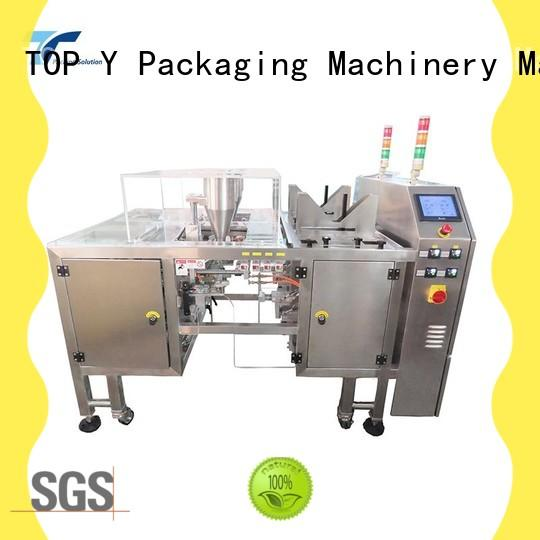 TOP Y Packaging Machinery Manufacturer side automatic pouch packing machine customized for bag sealing