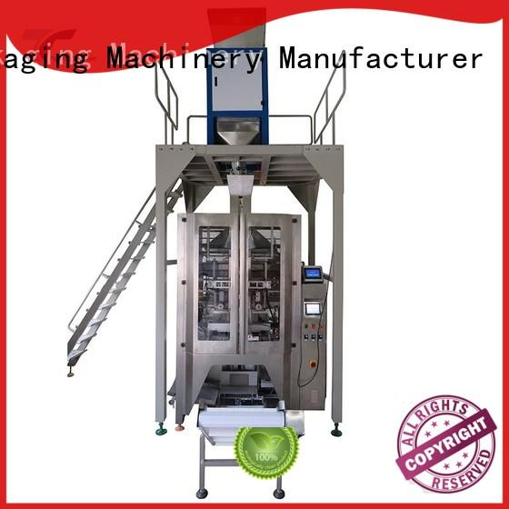 quad vffs machine manufacturer fill for bag outfeed TOP Y Packaging Machinery Manufacturer