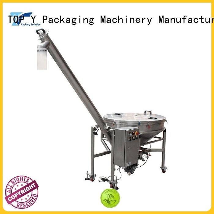 TOP Y Packaging Machinery Manufacturer design mini packaging machine auxiliary personalized for bag outfeed