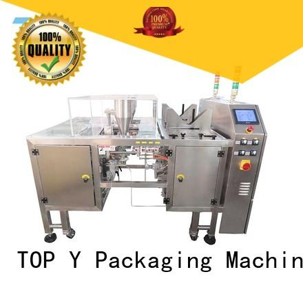 TOP Y Packaging Machinery Manufacturer zipper stand up pouch filling and sealing machine directly sale for bag sealing