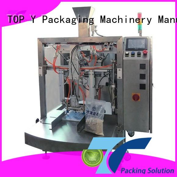 TOP Y Packaging Machinery Manufacturer hot selling sachet packing machine from China for bag outfeed