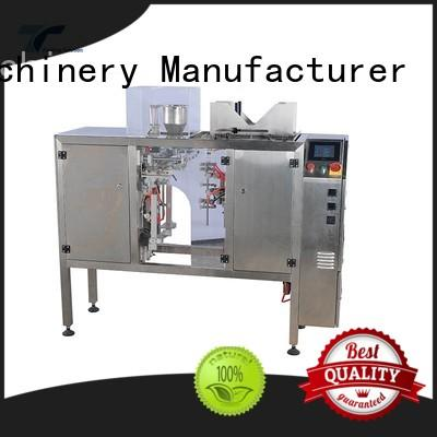 TOP Y Packaging Machinery Manufacturer adjustable pouch filling and sealing machine from China for bag sealing
