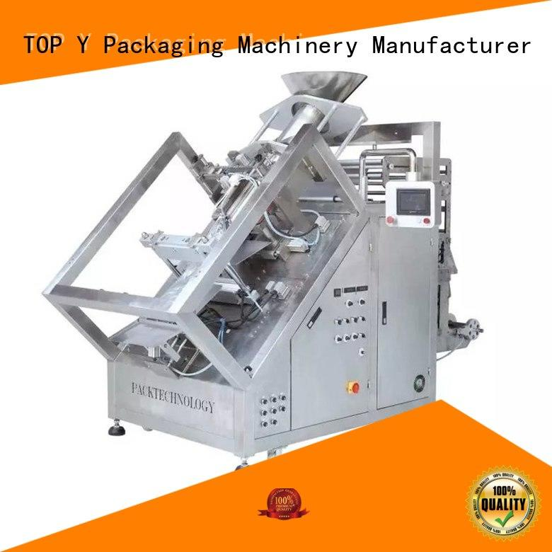 TOP Y Packaging Machinery Manufacturer Brand yvp yqsm zipper ymdp automatic packing machine