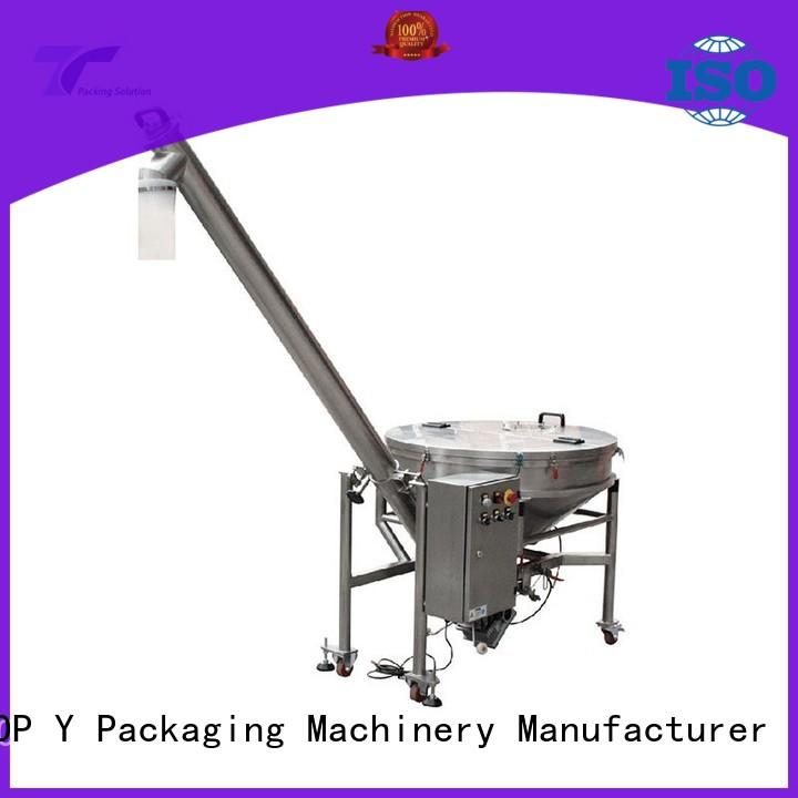 system auxiliary form fill seal machine manufacturer supplier for bag outfeed TOP Y Packaging Machinery Manufacturer