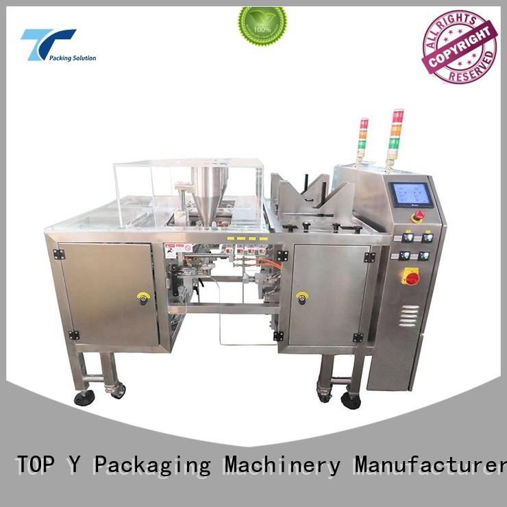 TOP Y Packaging Machinery Manufacturer price pouch filling and sealing machine directly sale for bag making